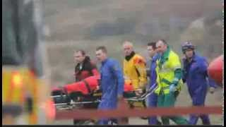 4 Oil Drillers Dead Helicopter Drops Into North Sea Shetland Ocean 12 Oil Rig Workers Rescued