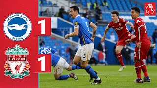 Highlights: Brighton 1-1 Liverpool | Late penalty drama after Jota's opener