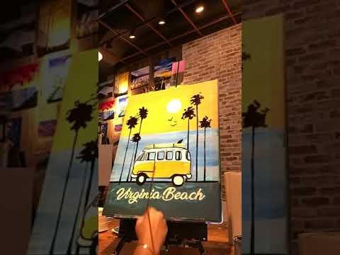 Muse Paintbar In Virginia Beach