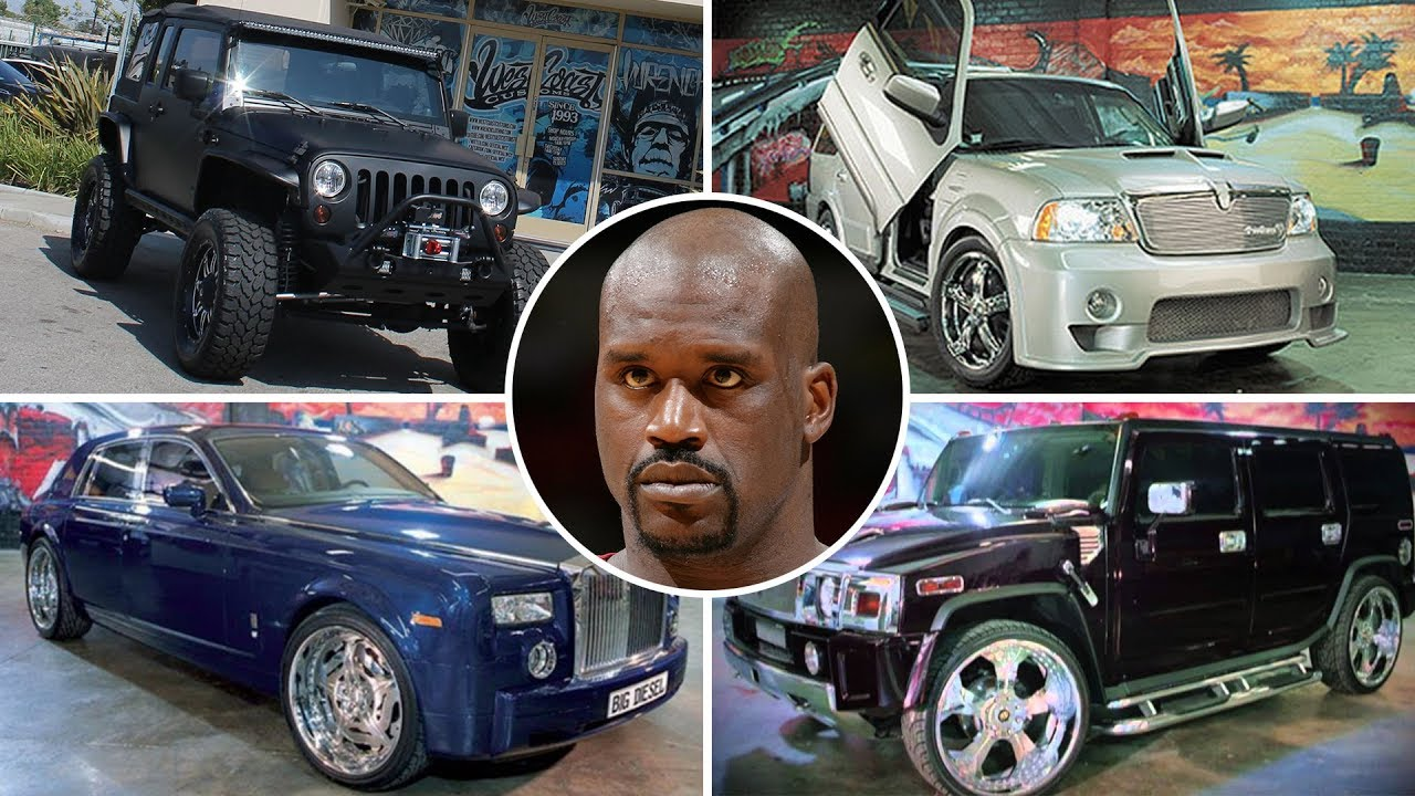 Shaquille O Neal S Vehicle Collection 2017 Full List Of Cars