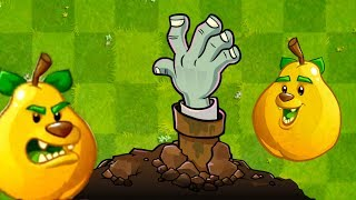 Plants vs Zombies 2 Grizzly Pear Plant vs Zombies - Plantas contra Zombies 2 Gameplay