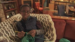 Checking in with Jonah Larson, crochet prodigy