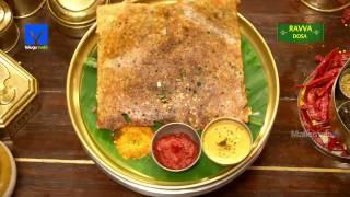 Ravva Dosa Recipe   How to make Ravva Dosa   Telugu Ruchi - Cooking Videos