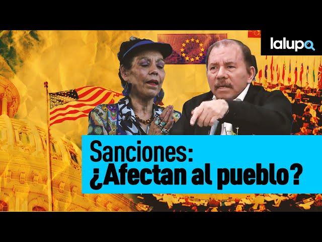 Sanciones: ¿Afectan al pueblo?