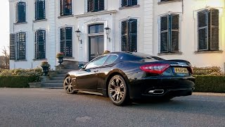Maserati GranTurismo S - Sounds, onboard drive, tunnel blast, flyby