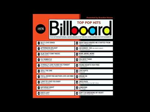 Billboard Top Pop Hits - 1976