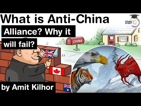 Anti China Alliance – Why it may fail? What is the real nature of Big Strategic Game in Asia? #UPSC