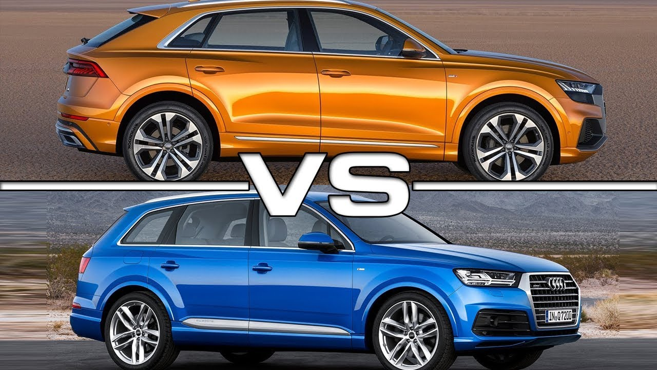 2019 audi q8 vs 2018 audi q7 technical specifications. Black Bedroom Furniture Sets. Home Design Ideas