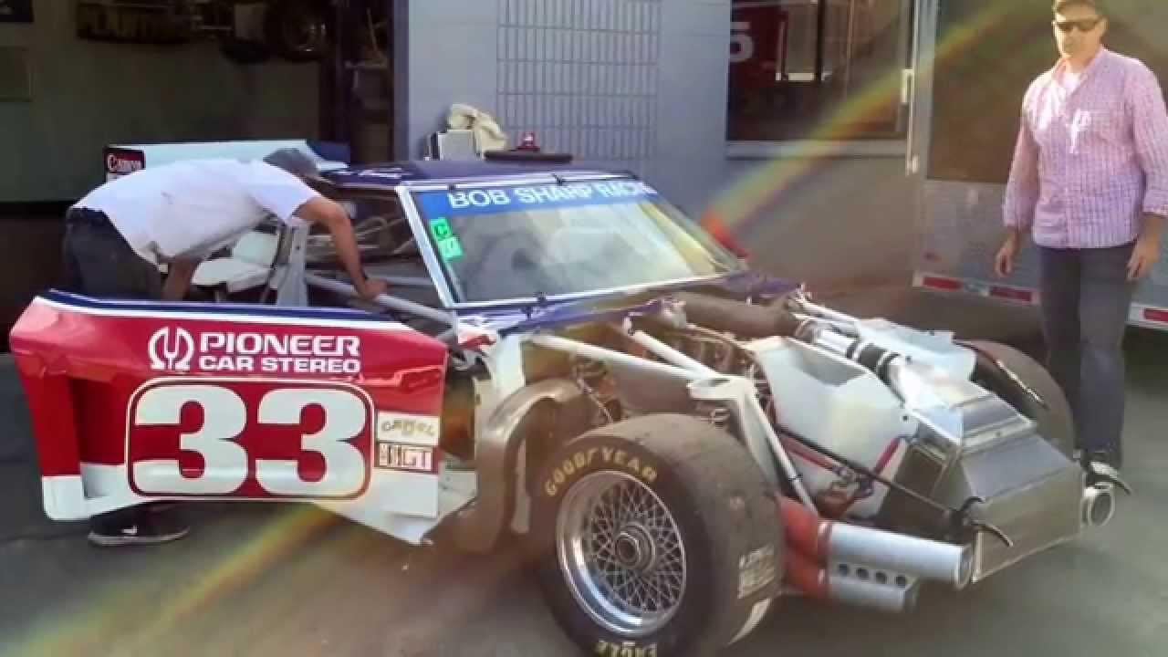 Paul Newman IMSA GT Nissan 280ZX V8 Twin Turbo - YouTube
