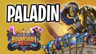 PALADIN Card Review | The Boomsday Project | Hearthstone