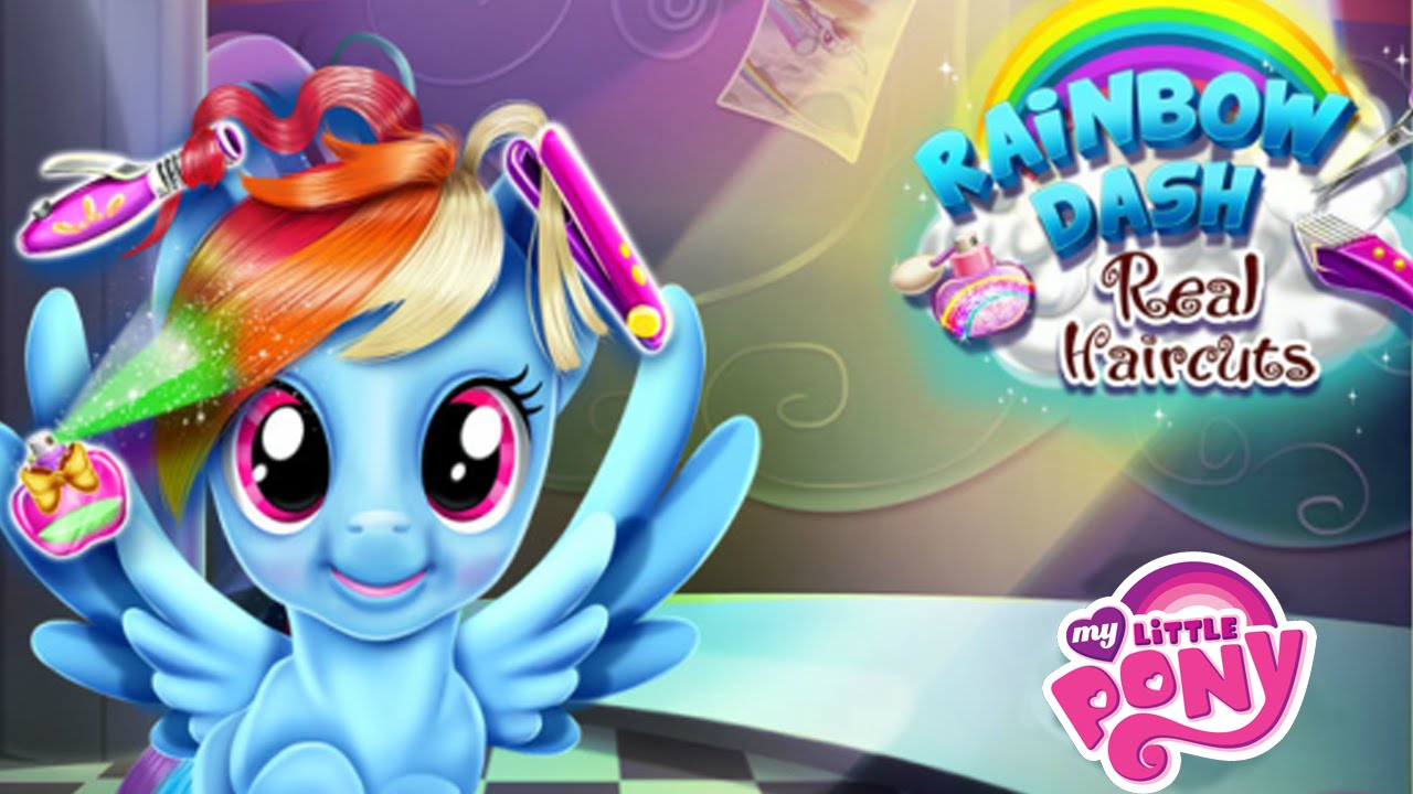 My Little Pony Rainbow Dash Real Haircuts Game For Kids