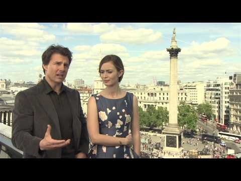 Edge of Tomorrow: Tom Cruise & Emily Blunt Official Movie Interview