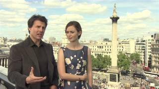 Video Edge of Tomorrow: Tom Cruise & Emily Blunt Official Movie Interview download MP3, 3GP, MP4, WEBM, AVI, FLV September 2018