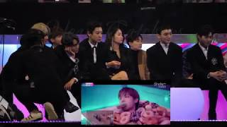 [HD FANCAM] 171201 2017 MAMA IN HONG KONG EXO'S REACTION TO BEST MUSIC VIDEO VCR