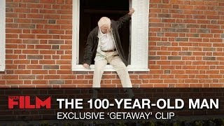 The 100-Year-Old Man Who Climbed Out Of The Window And Disappeared Clip