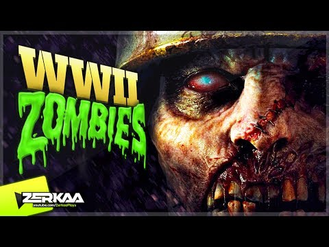 WW2 TYPE ZOMBIES MAP! (Black Ops 3 Custom Zombies)