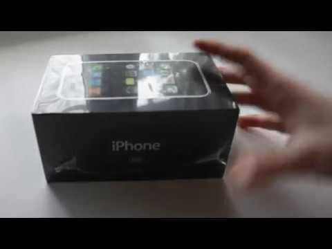 Sealed IPhone 2g UNBOXING