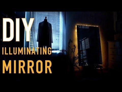 DIY: Illuminating Mirror (Under $20 !) - by Orly Shani