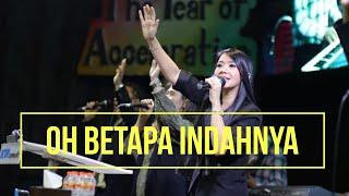 Gambar cover OH BETAPA INDAHNYA  by Rachel Mutiara  ( Lagu Dangdut Rohani Kristen )