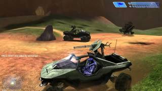 Halo 1: Combat Evolved PC Capture The Flag - Map Blood Gulch Random Game Multiplayer 01