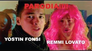 ECHAME LA CULPA PARODIA!! -de luis fonsi demi lovato-parodia por YOSTIN ROMERO