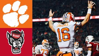 #5 Clemson vs NC State Highlights | NCAAF Week 11 | College Football Highlights