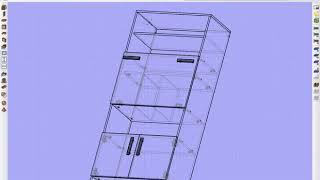 Базис Мебельщик 8 Установка крепежа