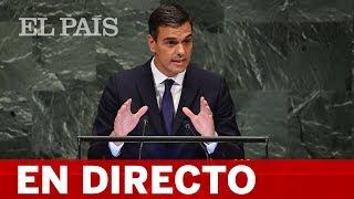 DIRECTO ONU | PEDRO SÁNCHEZ interviene en la ASAMBLEA GENERAL