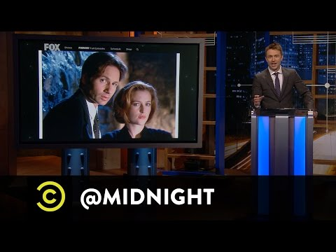 Scott Adsit, Annabeth Gish, Greg Proops  The RejectsFiles  @midnight with Chris Hardwick
