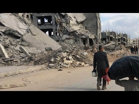 CBC crew on the front lines of Aleppo, Syria
