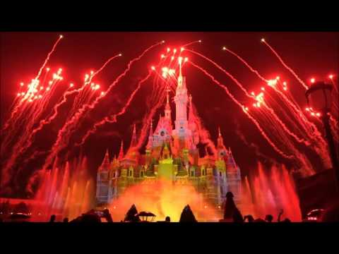 Ignite the Dream A Nighttime Spectacular of Magic and Light (HD) - Shanghai Disney land