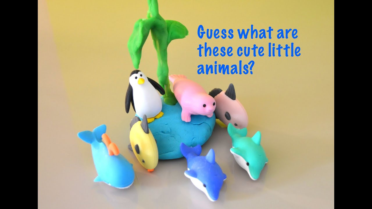 japanese iwako erasers collection sea animals erasers by