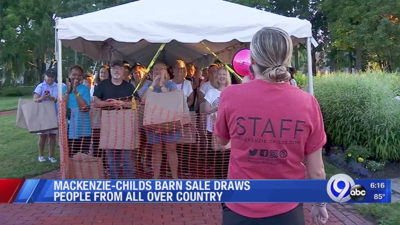 mackenzie childs barn sale 2020