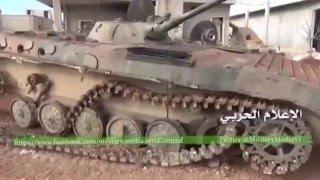 Бегство боевиков игил от сирийской армии!