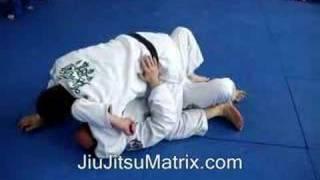 Advanced Brazilian Jiu-Jitsu Matrix Moves: Half guard to Mount to Armbar JiuJitsu Technique-Basic Move