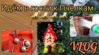 ВЛОГ🐝 Пчёлы | Новая Корзина |покупка SUNLIGHT Июнь 2021