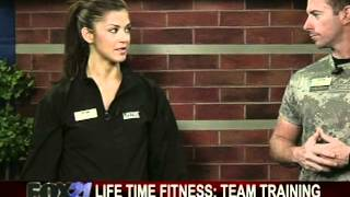 Lifetime Fitness team training
