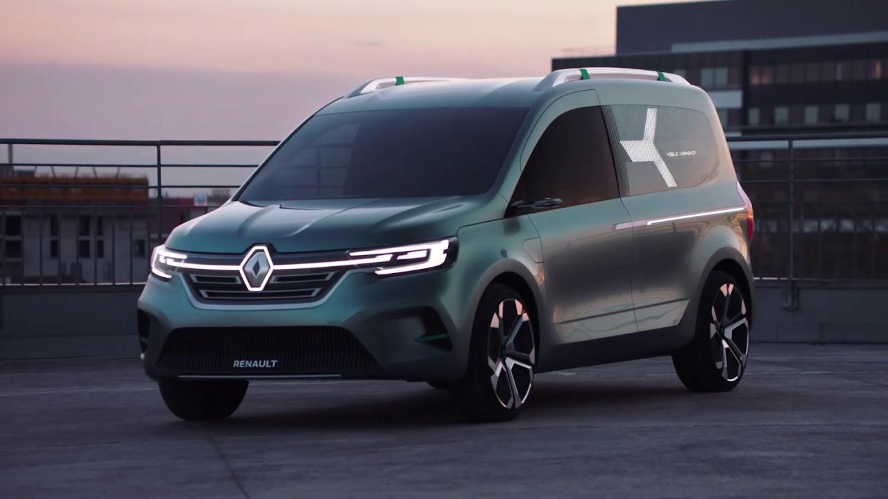 Renault KANGOO Z.E. Concept   Groupe Renault - YouTube