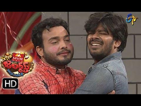 Sudigaali Sudheer Performance | Extra Jabardsth | 18th August 2017| ETV  Telugu