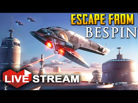 Star Wars Battlefront: Bespin | Escape from Cloud City! | Gameplay Live Stream