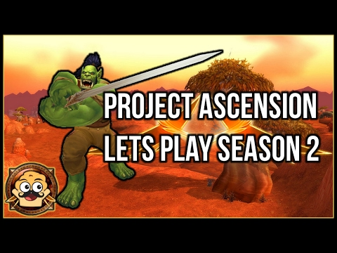 Project Ascension WoW - Valley of Trials   Lets Play Part 1
