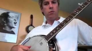 country roads banjo lesson