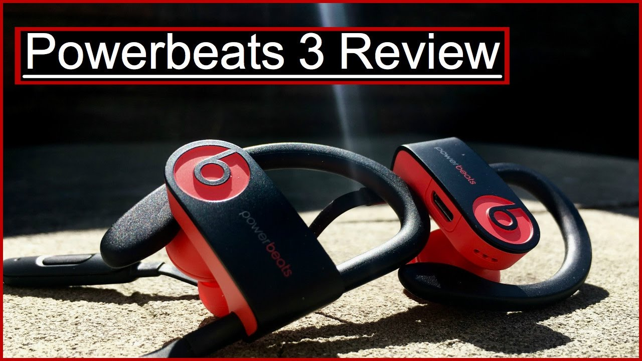 how to put on powerbeats 3