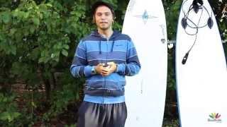 Урок серфинга на Шри-Ланке (1-ый урок базового курса)
