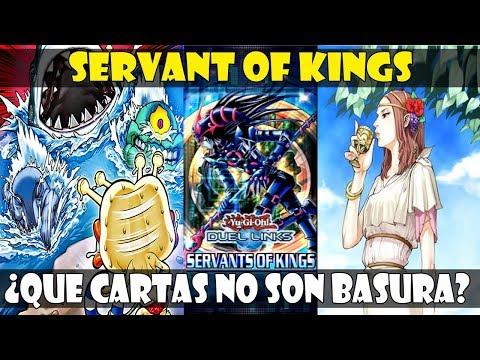 NUEVA EXPANSIÓN: SERVENT OF KINGS - MEJORES CARTAS/TOP TIER   DUEL LINKS