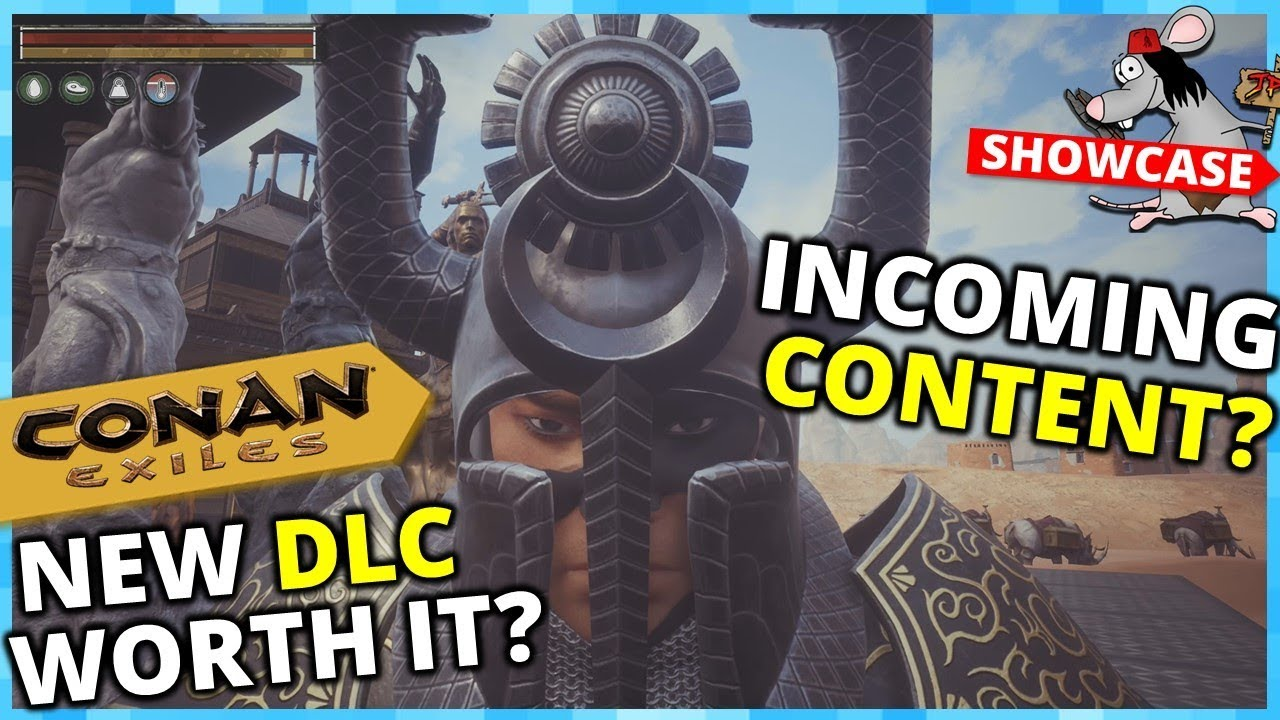 CONAN EXILES RIDDLE OF STEEL DLC! Tamable Gorilas? New Content Hype