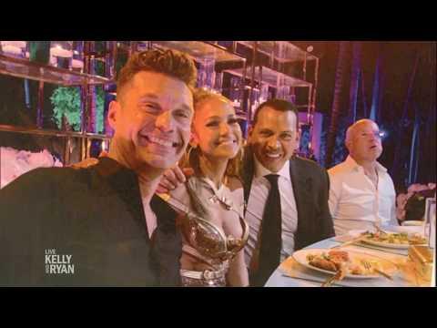Ryan Went to Jennifer Lopez's 50th Birthday Party