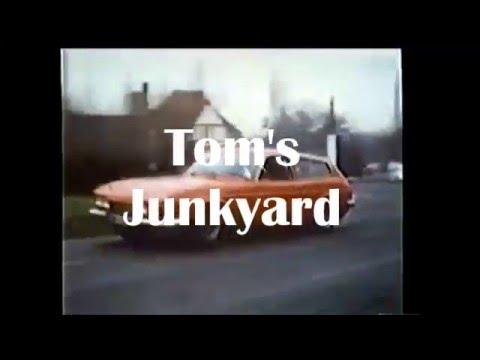 24 Hour Junkyard Restoration - '73 Scimitar GTE 3.0 V6