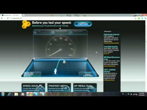etisalat net speed test
