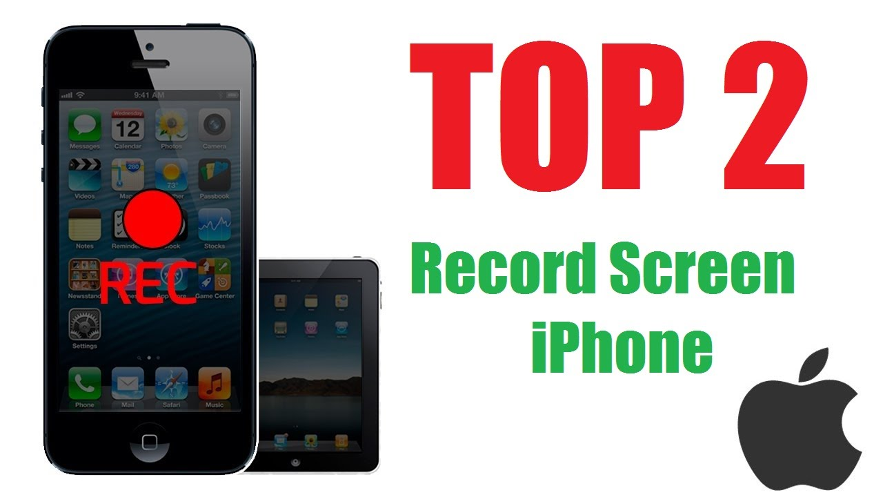 2 phần mềm quay video màn hình iPhone,iPad tốt nhất